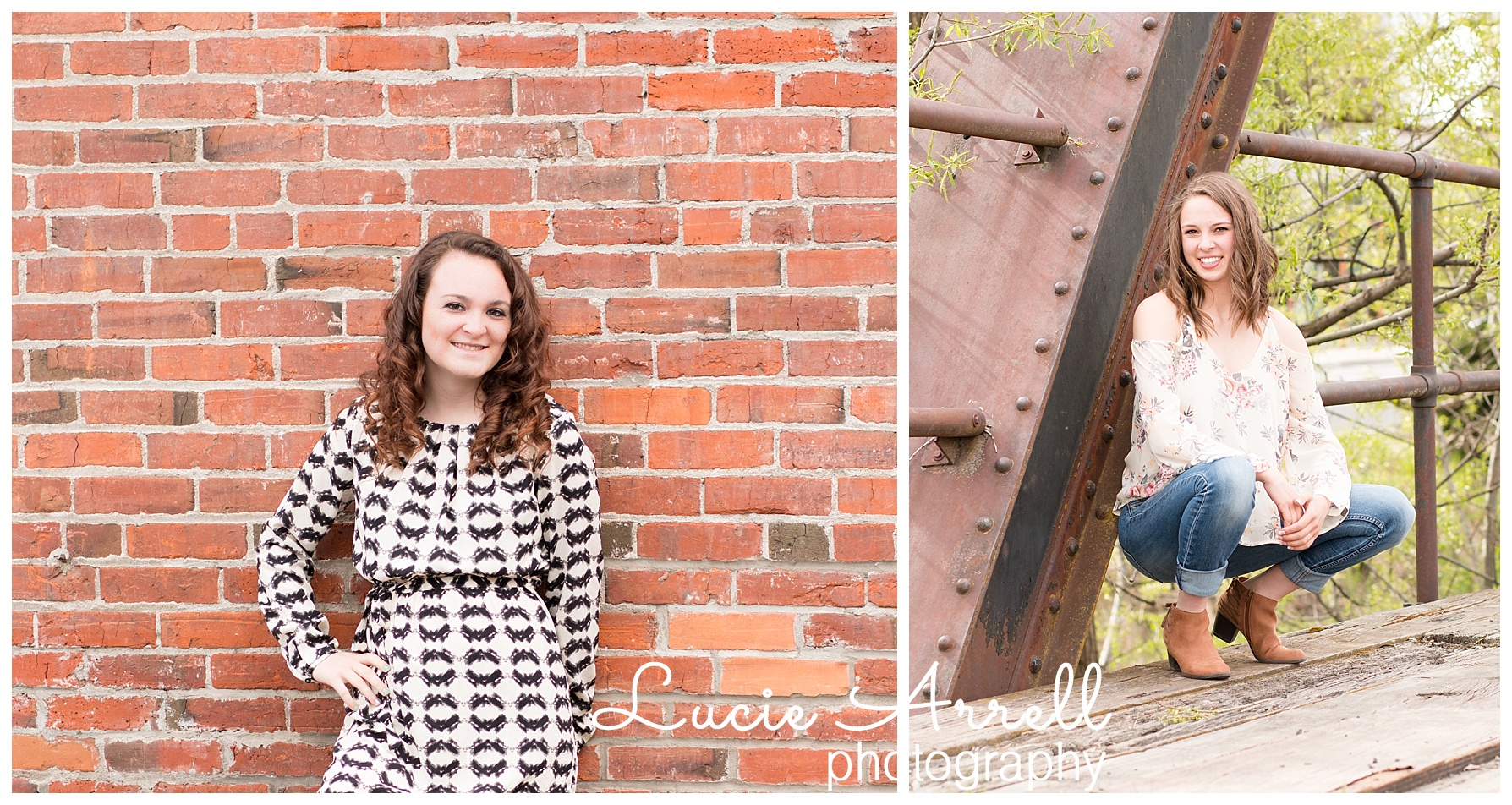 Urban senior session Pullman